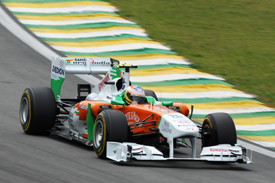 Paul di Resta Force India 2011 Brazilian Grand Prix