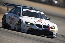 Joey Hand Dirk Muller BMW ALMS Laguna Seca 2011