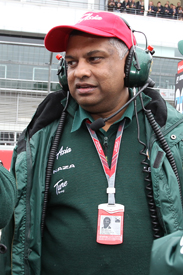Tony Fernandes Lotus 2011 Brazilian Grand Prix
