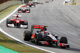 Jenson Button McLaren 2011 Brazilian Grand Prix