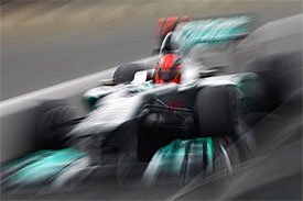Mercedes to change test approach in '12