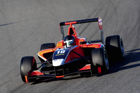 Tio Ellinas Manor GP3 test Jerez 2011