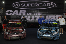 V8 Supercars Car of the Future launch