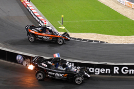 Sebastien Ogier Tom Kristensen RoC buggies 2011 Race of Champions