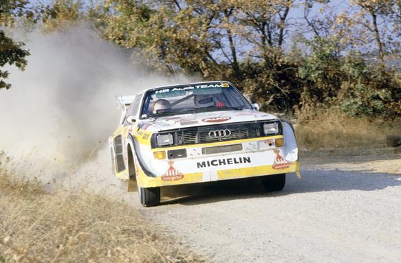 Hannu Mikkola Audi Quattro 1985 WRC