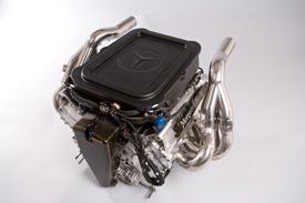 Mercedes AMG 3/4 shot