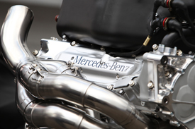 Mercedes engine F1 2011