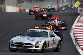 Safety car 2011 Korean Grand Prix