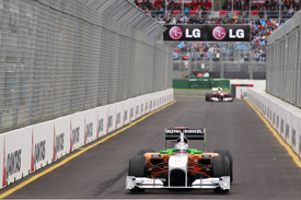 Adrian Sutil Force India 2011 Australian Grand Prix