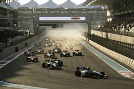 GP2 in Abu Dhabi