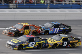 NASCAR tandem drafting at Talladega
