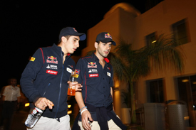 Sebastien Buemi and Jaime Alguersuari suddenly found themselves looking for new employment