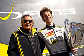 Romain Grosjean and Jean Paul Driot, 2011