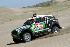Stephane Peterhansel X-raid Mini Dakar Rally 2012