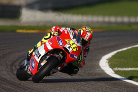 Valentino Rossi, Ducati, Valencia testing 2011