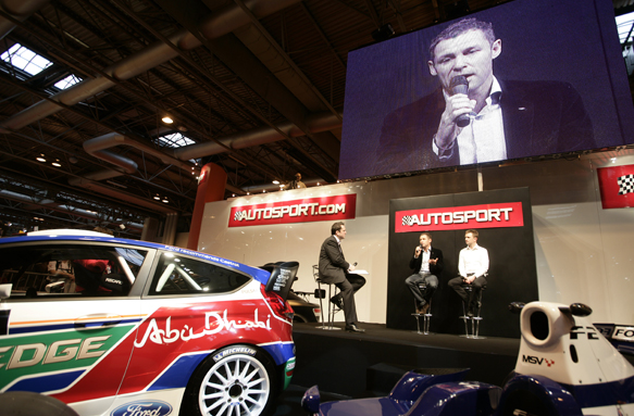 AUtosport stage autosport international tom kristensen 2011