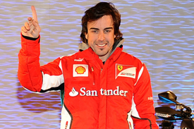 Fernando Alonso Wroom 2012