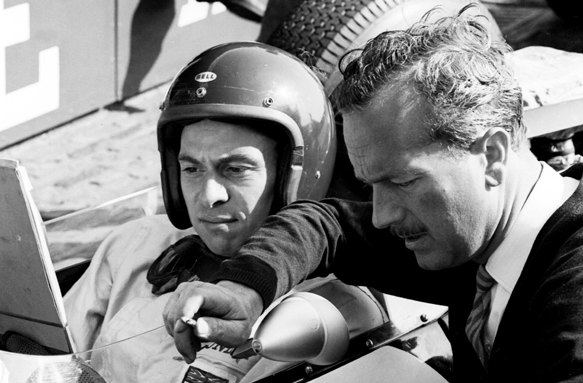Jim Clark Colin Chapman 1963 grand prix
