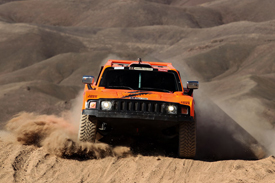 Robby Gordon Hummer Dakar Rally 2012