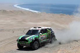 Stephane Peterhansel, X-raid Mini, Dakar 2012