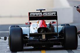 Can the team move forward as Marussia?