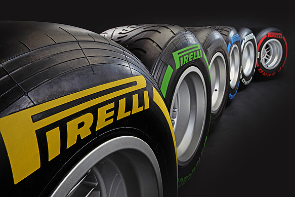 Pirelli's tyres