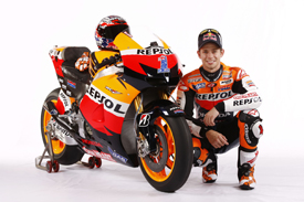 Casey Stoner Honda MotoGP 2012