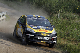 Craig Breen, WRC Academy, Finland 2011