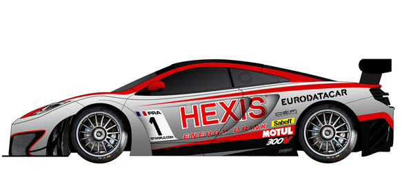 Hexis McLaren World GT1 2012