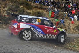 Pierre Campana Mini Monte Carlo Rally WRC 2012