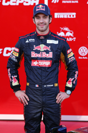 Jean-Eric Vergne Toro Rosso 2012 launch grand prix