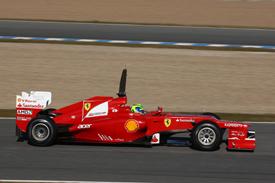Felipe Massa Ferrari 2012 Jerez test