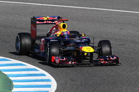 Mark Webber Red Bull 2012 Jerez test