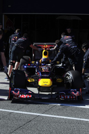 Mark Webber, Red Bull, Jerez testing 2012