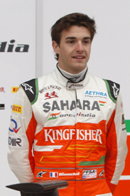 Jules Bianchi Force India 2012