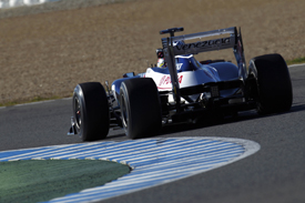 Pastor Maldonado Williams 2012 Jerez test