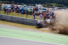 Senna F3 crash