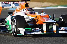 Jules Bianchi, Force India
