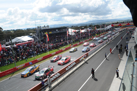 Bathurst V8 start 2011