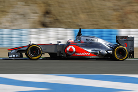 Jenson Button McLaren 2012 Jerez test