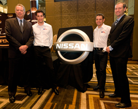 Nissan V8 announcement