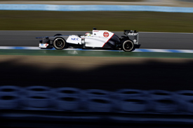Sergio Perez, Sauber, Jerez testing 2012