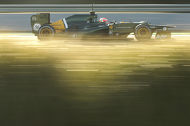 Jarno Trulli, Caterham, Jerez testing 2012