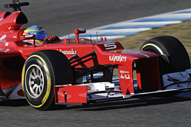 Alonso says Ferrrai only understands 20% of the new F2012