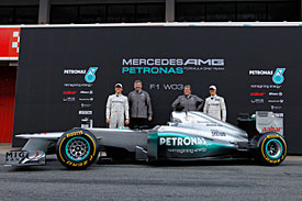Mercedes W03, Barcelona, 2012