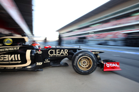 Romain Grosjean, Lotus, Catalunya testing 2012
