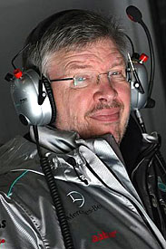 Ross Brawn, Mercedes, 2012
