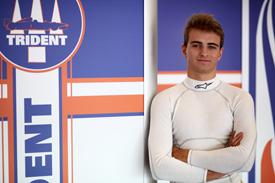 Nico Muller Trident GP3 2012