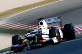 Sergio Perez, Sauber C31, Barcelona 2012