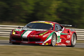 AF Corse Ferrari Le Mans 2012